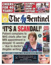 Stoke Sentinel Subscription